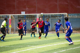 GFA U14 B from Singapore (red) vs Preah Khan Reach Svay Rieng U14 (blue)
