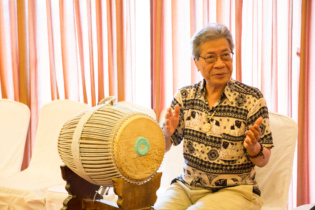 Mr. Chinary Ung, Cambodian-American composer said why Cambodian traditional music don't compose new pieces? This workshop provides a chance for traditional musicians to compose new work.